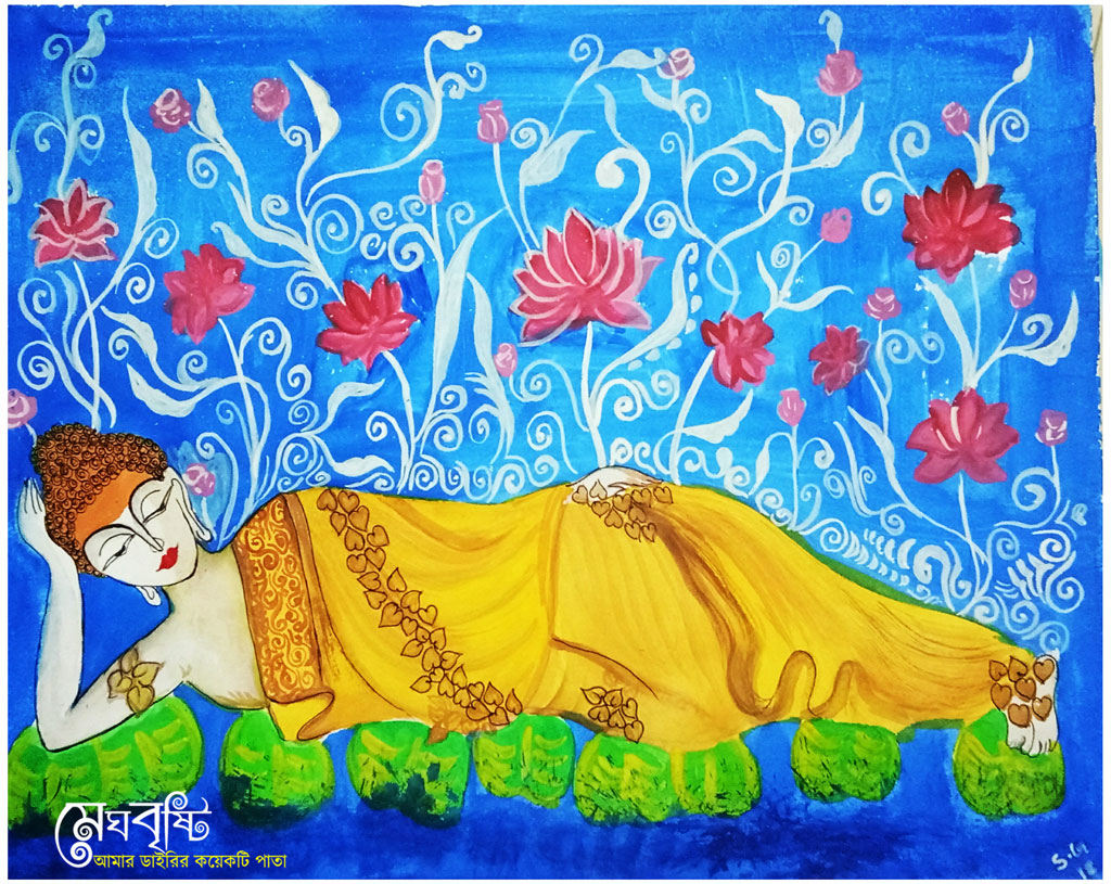 Painting by me (Suparna Ghosh)